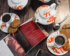 Chemarea-Dragonului-Portocaliu-set cafea-ceai